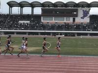 1年木村有希の800m決勝(右から2番目)